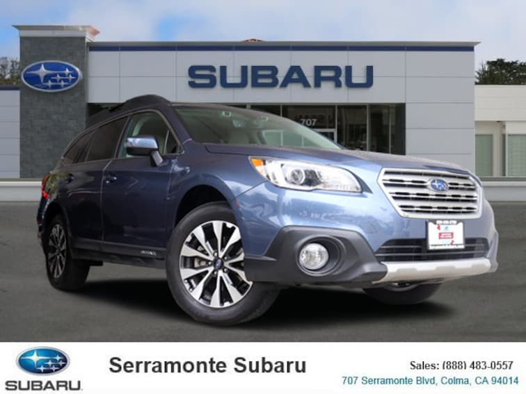 Certified Pre-owned 2017 Subaru Outback 2.5i Limited with SUV for sale in Colma, CA