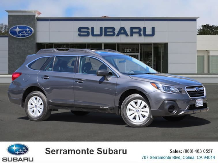 Certified Pre-owned 2018 Subaru Outback 2.5i SUV for sale in Colma, CA