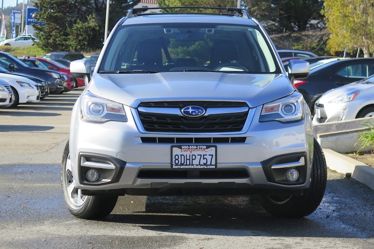 Certified Used 2018 Subaru Forester For Sale Near San Francisco Ca
