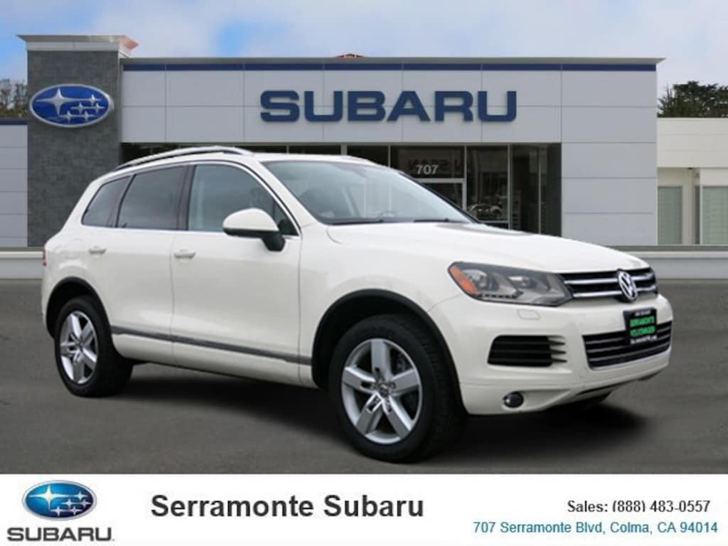Volkswagen Touareg For Sale >> Certified Used 2011 Volkswagen Touareg For Sale Near San