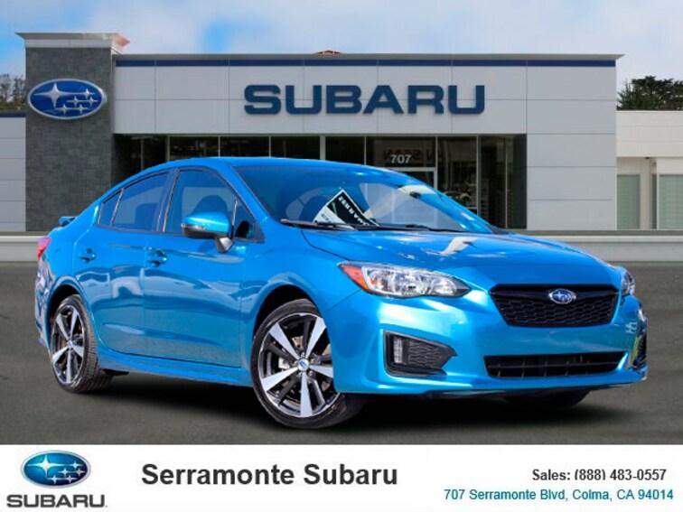 Certified Pre-owned 2017 Subaru Impreza 2.0i Sport Sedan for sale in Colma, CA