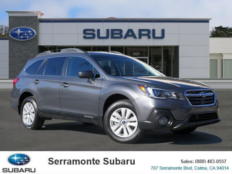 Certified Pre-owned 2018 Subaru Outback 2.5i Premium with SUV for sale in Colma, CA