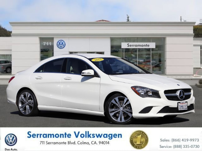 Used 2015 Mercedes-Benz CLA For Sale at Serramonte