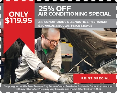 25% Off  Air Conditioning Special
