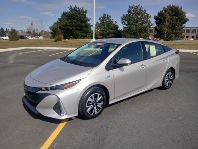 Pre-Owned Featured 2018 Toyota Prius Prime Plus Hatchback for sale near you in Saginaw, MI