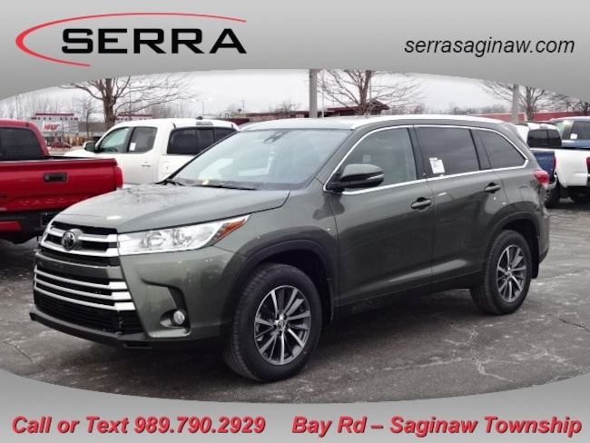 New  2019 Toyota Highlander XLE SUV For Sale/Lease Saginaw, MI