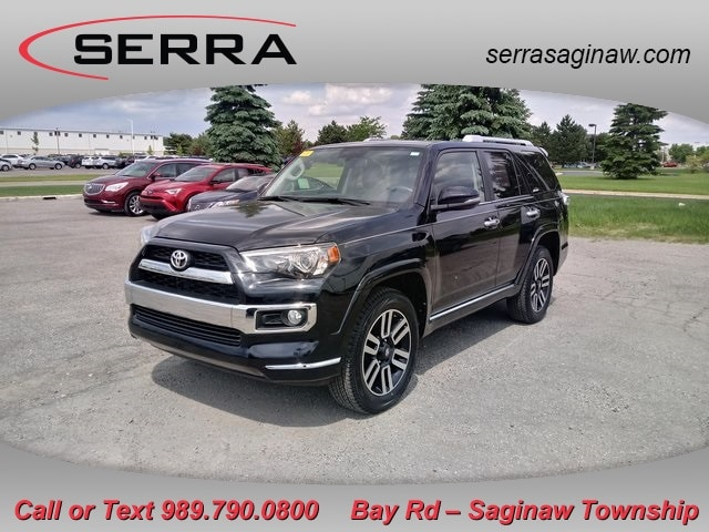 Pre-Owned Featured 2018 Toyota 4Runner Limited SUV for sale near you in Saginaw, MI
