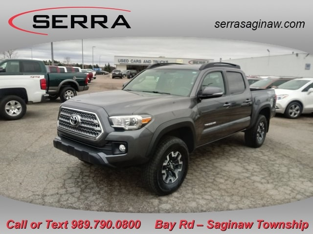 Pre-Owned Featured 2016 Toyota Tacoma TRD Offroad Truck for sale near you in Saginaw, MI