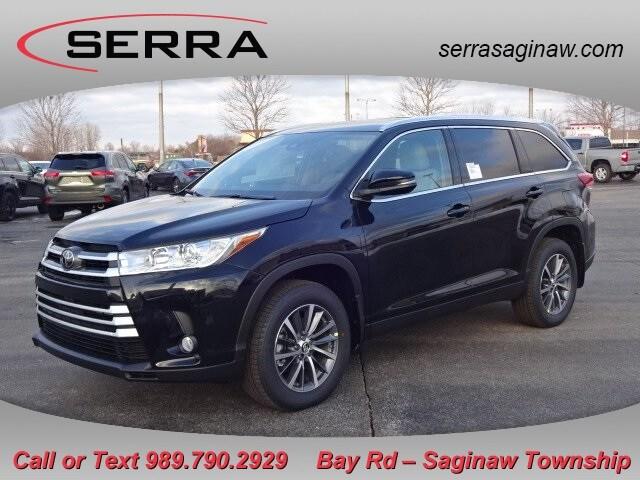 Featured New 2019 Toyota Highlander XLE SUV for sale near you in Saginaw, MI