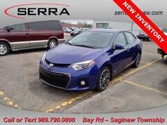 Certified Pre-Owned 2015 Toyota Corolla S Plus Sedan for sale near you in Saginaw, MI