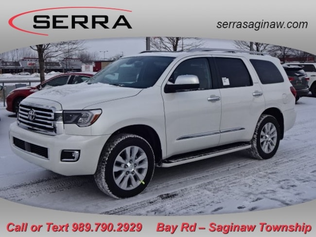 New  2019 Toyota Sequoia Platinum SUV For Sale/Lease Saginaw, MI