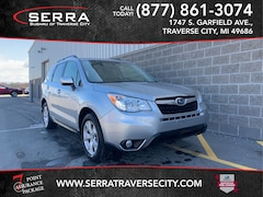Certified Pre-Owned  2015 Subaru Forester 2.5i Limited SUV FH594387 in Traverse City, MI