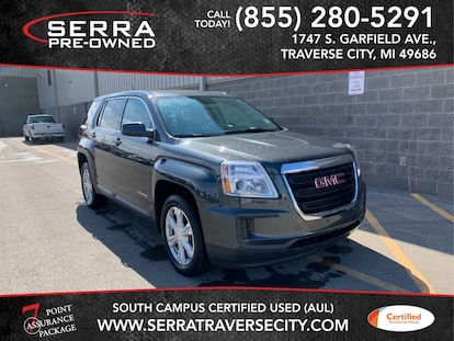 Used 2017 GMC Terrain For Sale at Serra Traverse City | VIN