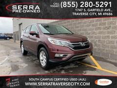 Used 2016 Honda CR-V EX SUV 2HKRM4H50GH632514 for sale in Traverse City, MI