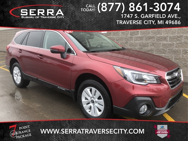 Pre-Owned 2019 Subaru Outback 2.5i Premium SUV For sale in Traverse City, MI