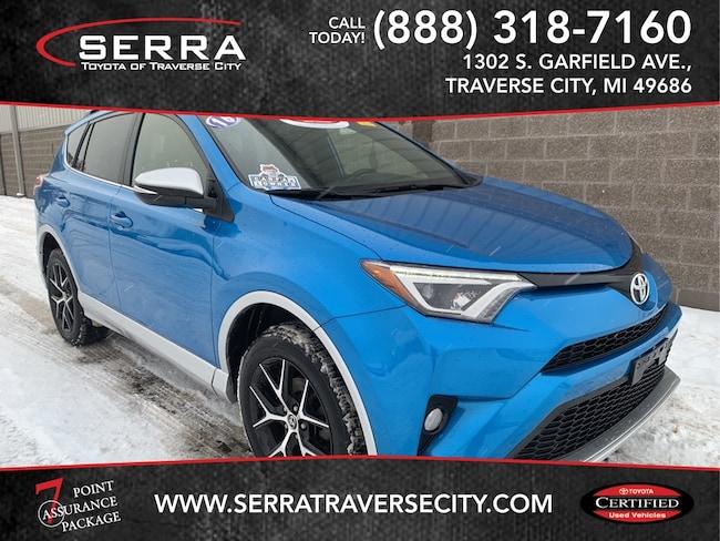 Pre-Owned 2016 Toyota RAV4 SE SUV For sale in Traverse City, MI