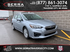 Used 2018 Subaru Impreza 2.0i Premium Hatchback 4S3GTAB62J3716556 for sale in Traverse City, MI