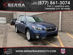 Used 2019 Subaru Outback 2.5i Premium SUV 4S4BSAHC1K3222437 for sale in Traverse City, MI