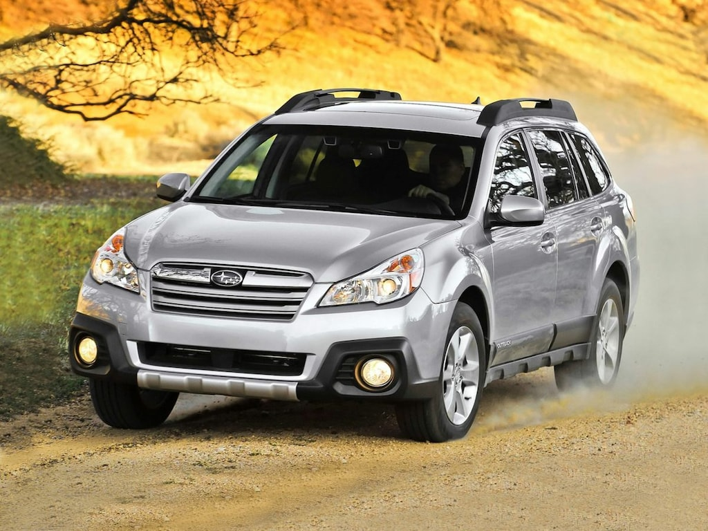 Used 2014 Subaru Outback SUV Tungsten Metallic For Sale in Traverse City MI  | Stock:E3292021