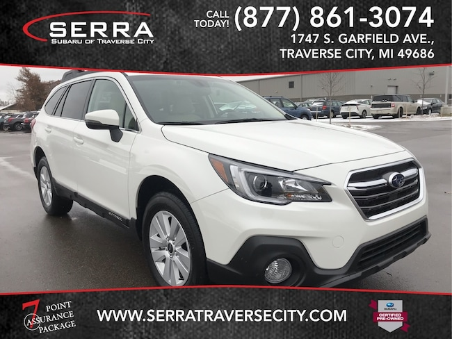 Pre-Owned 2018 Subaru Outback 2.5i Premium SUV For sale in Traverse City, MI