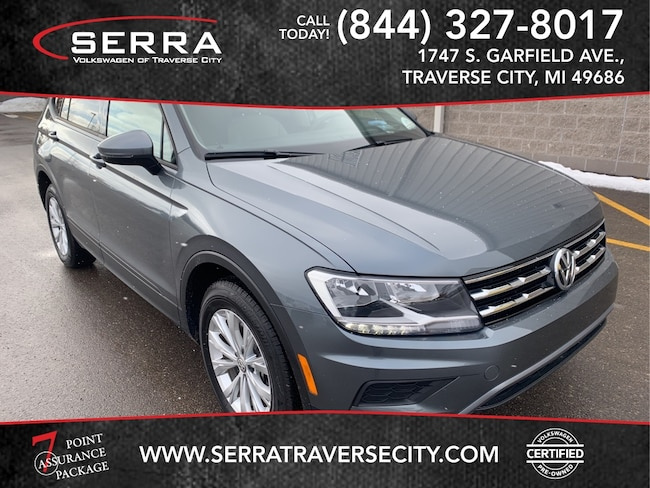 Pre-Owned 2018 Volkswagen Tiguan S 4motion SUV For sale in Traverse City, MI