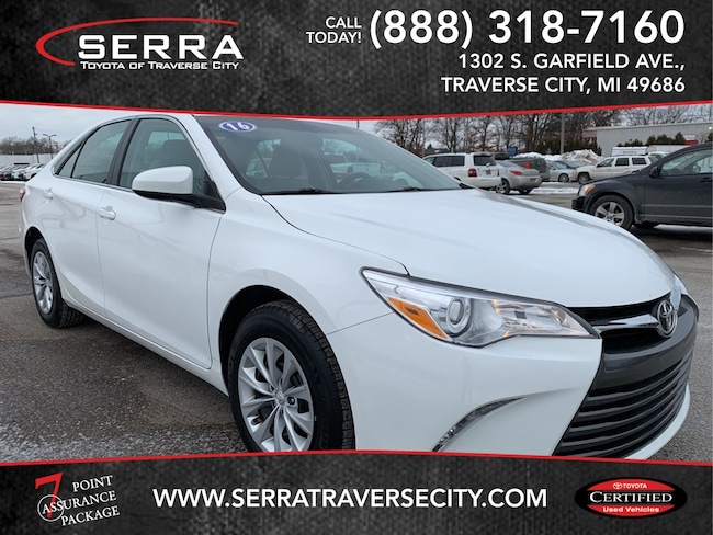 Pre-Owned 2016 Toyota Camry LE Sedan For sale in Traverse City, MI