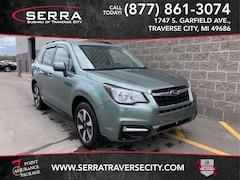 Used 2017 Subaru Forester 2.5i Premium SUV JF2SJAEC6HH577855 for sale in Traverse City, MI