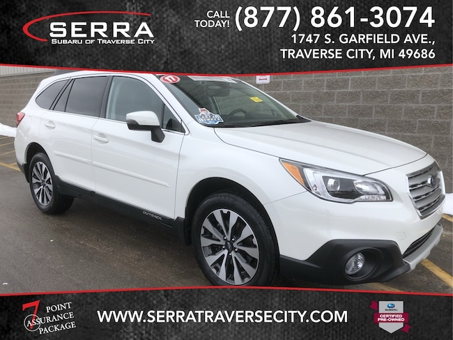 Pre-Owned 2017 Subaru Outback 2.5i Limited SUV For sale in Traverse City, MI