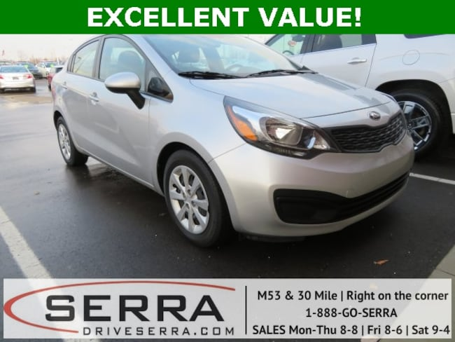 Pre-Owned 2014 Kia Rio LX Sedan For Sale in Washington, MI