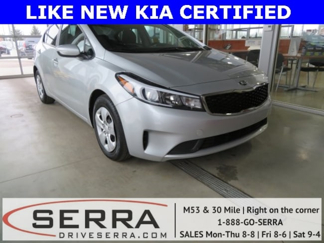 Pre-Owned 2018 Kia Forte LX Sedan For Sale in Washington, MI
