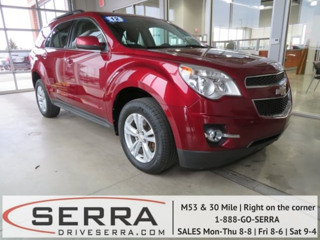 2012 Chevrolet Equinox 2LT SUV For Sale in Washington, MI