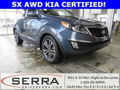 2016 Kia Sportage SX AWD SUV For Sale in Washington MI