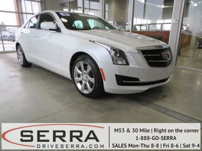 Pre-Owned 2016 CADILLAC ATS 3.6L Luxury Collection Sedan For Sale in Washington, MI