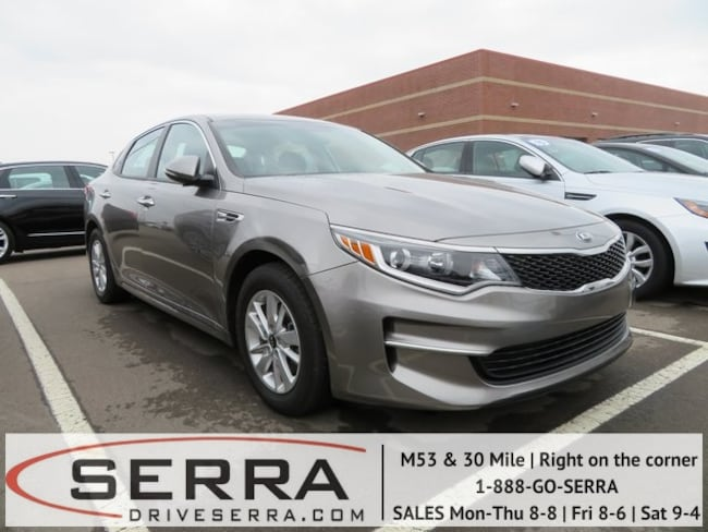 Pre-Owned 2016 Kia Optima LX Sedan For Sale in Washington, MI