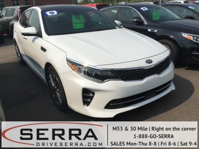 Pre-Owned 2016 Kia Optima SX Limited Sedan For Sale in Washington, MI