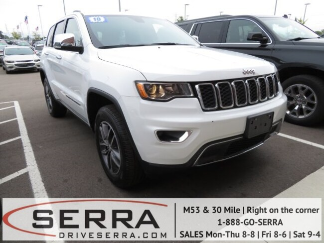 2018 Jeep Grand Cherokee Limited 4x4 SUV For Sale in Washington, MI