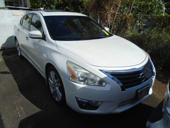 Used 2013 Nissan Altima For Sale At Servco Subaru Vin