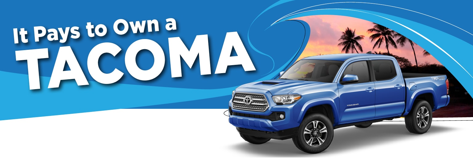 Servco Toyota Honolulu Tacoma Loyalty Offer Servco Toyota