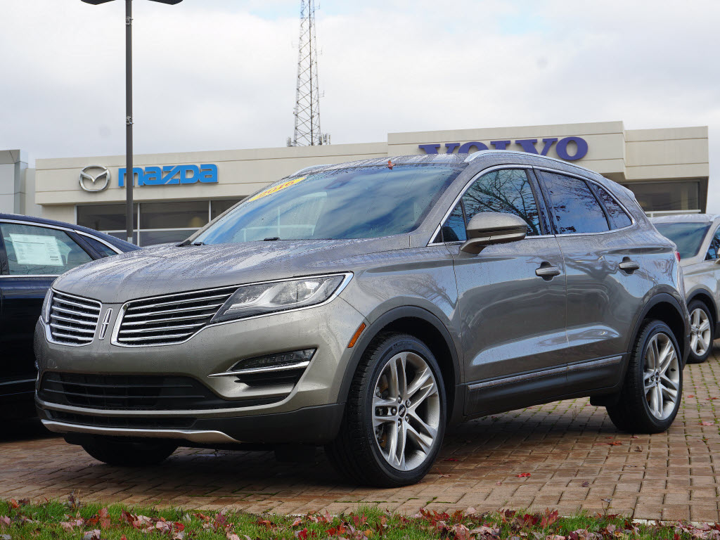 Featured pre-owned vehicles 2016 Lincoln MKC Reserve Sport Utility for sale near you in Ann Arbor, MI