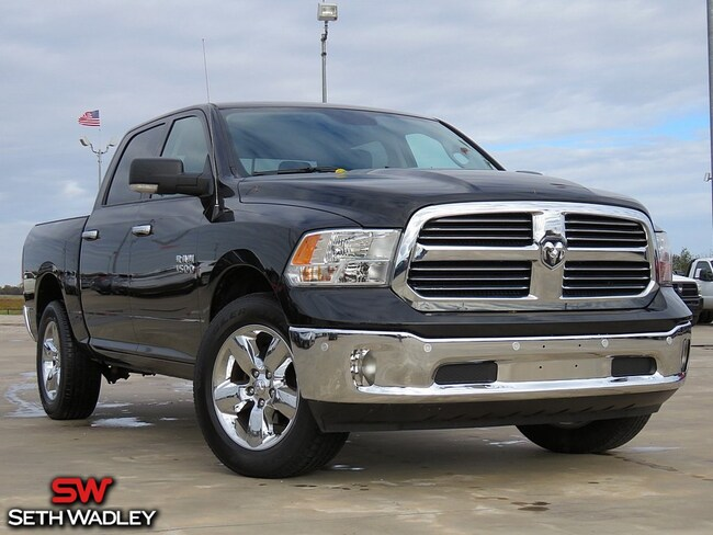 2016 Ram 1500 SLT Truck Crew Cab for sale at Seth Wadley Chrysler Dodge Jeep Ram in Pauls Valley, OK