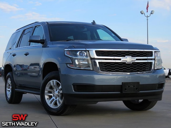 2016 Chevrolet Tahoe LT SUV for sale at Seth Wadley Chrysler Dodge Jeep Ram in Pauls Valley, OK