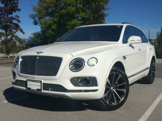 2017 Bentley Bentayga Local car, No accidents, One owner, Low km, W12 SUV