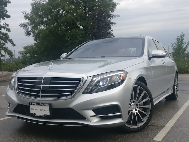 2016 Mercedes-Benz S-Class S550 4MATIC LWB, Local, No accidents, Only 2500 km Sedan