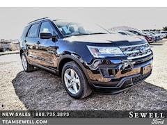 New 2019 Ford Explorer Base FWD SUV 1FM5K7B85KGA40429 in Odessa, TX