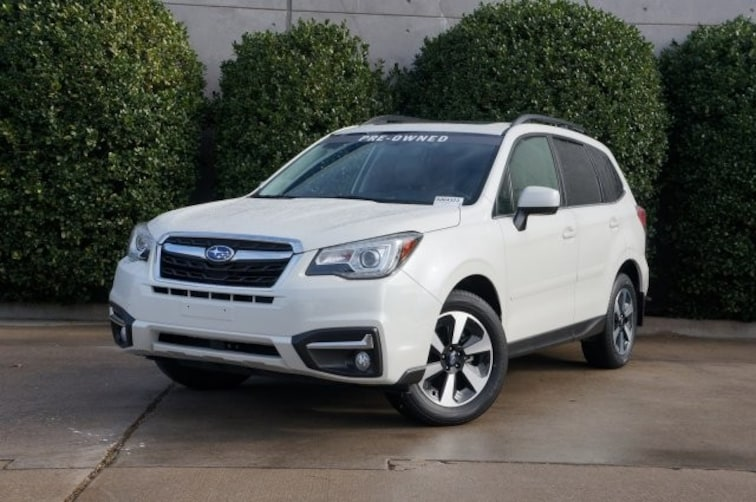 Certified 2018 Subaru Forester Limited SUV For Sale in Dallas, TX