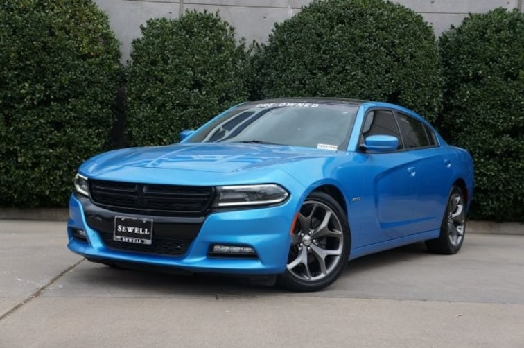 Used 2015 Dodge Charger RT Sedan For Sale in Dallas, TX