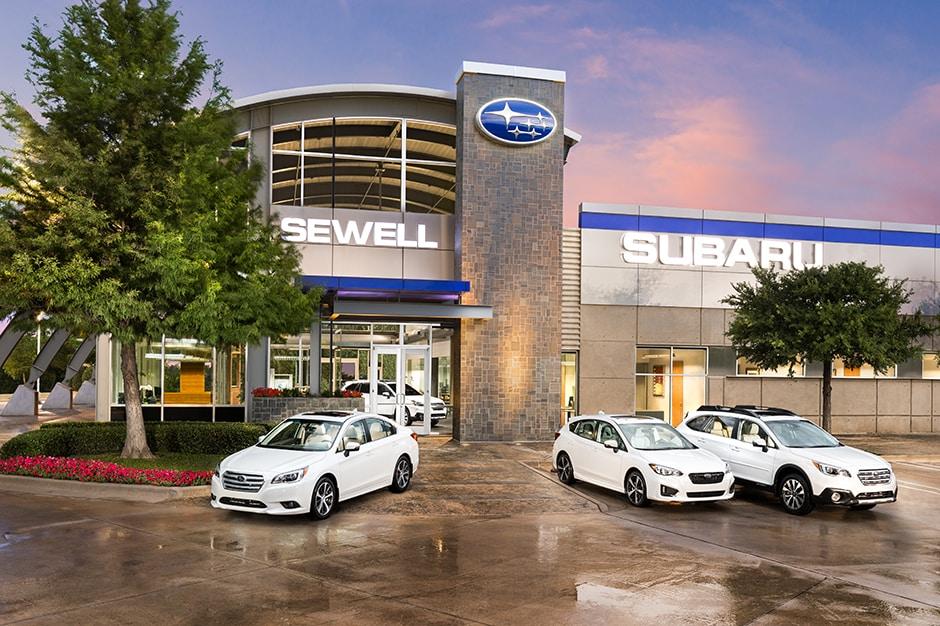 Sewell Dallas Used Cars >> Sewell Subaru Dallas New 2017 2018 Used Subaru Dealership