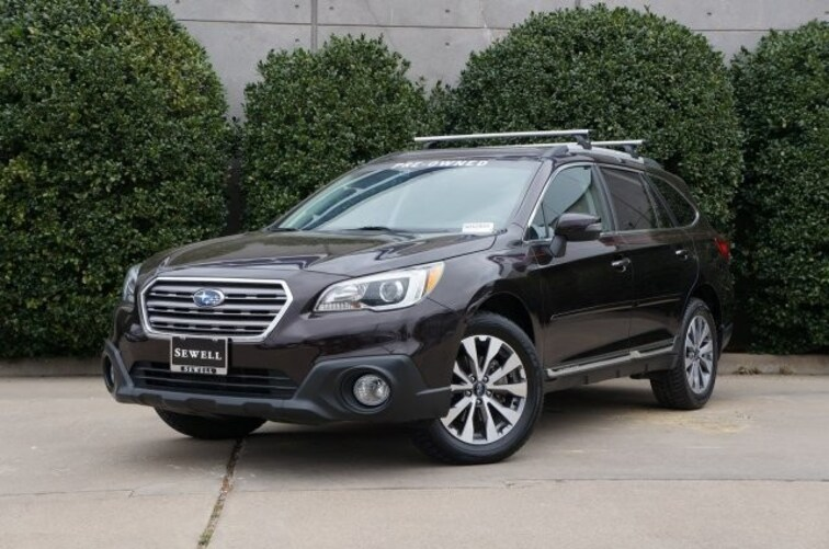 Certified 2017 Subaru Outback Touring SUV For Sale in Dallas, TX