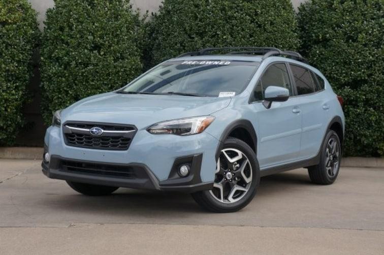 Certified 2018 Subaru Crosstrek Limited SUV For Sale in Dallas, TX