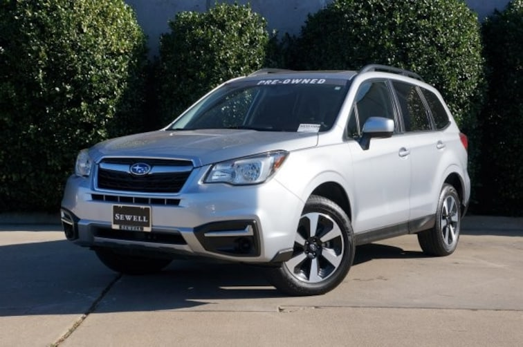 Certified 2017 Subaru Forester Premium SUV For Sale in Dallas, TX